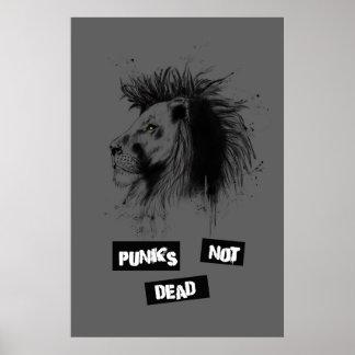 punks not dead print