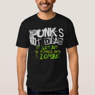 """""""punks not dead"""" shirt"""