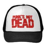 Punks Not Dead Trucker Hat