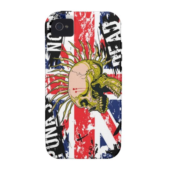 Punks Not Dead Vibe iPhone 4 Case