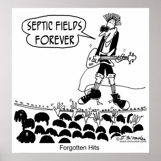 Punks Sing Septic Fields Forever Poster