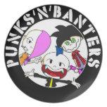 Punks'n'Banters logo Platos