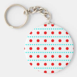 pünktchen dots polka gira tocan ligeramente llavero redondo tipo pin