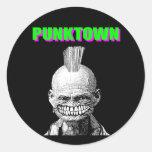 Punktown Sticker