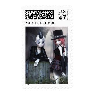 Punky Goths Postage