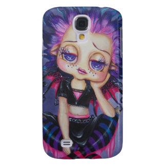 Punky Lil Gothie Fairy Big Eyed Art i Phone Case