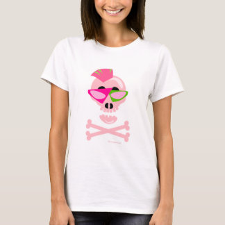 Punky New Wave Skull T-Shirt