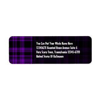 Punky Plaid Purple Label