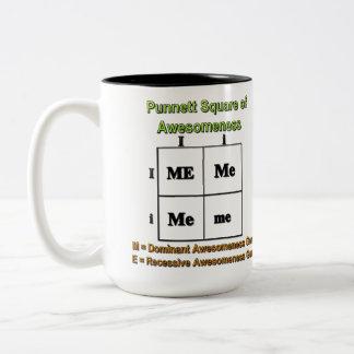 Punnett Square of Awesomeness Two-Tone Coffee Mug