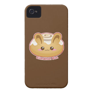 Punny Buns: Cute Cinnamon Bunny iPhone 4 Case-Mate Case
