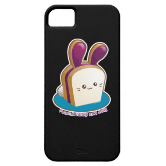 Punny Buns: Cute Peanut Butter and Jelly Bunny iPhone SE/5/5s Case