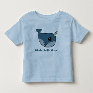 Punny Narwhal Toddler T-shirt