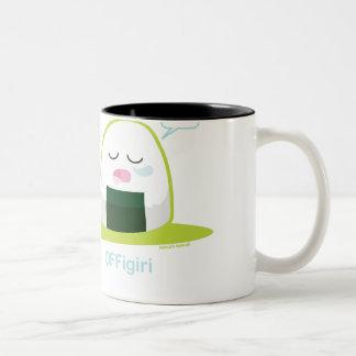 Punny Nigiri Two-Tone Coffee Mug