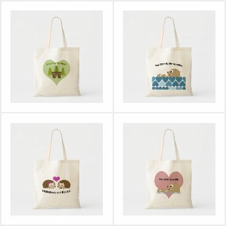 Punny Tote Bags