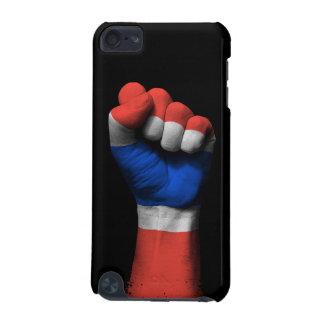 Puño apretado aumentado con la bandera tailandesa funda para iPod touch 5G