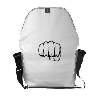 puño bolsas messenger