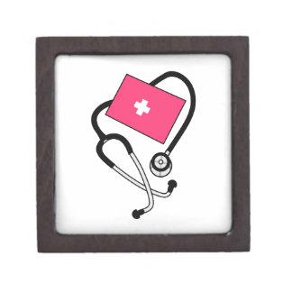 Puño de la presión arterial cajas de recuerdo de calidad