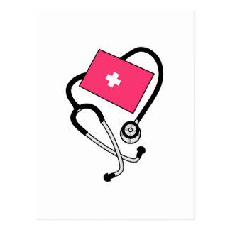 Puño de la presión arterial postales