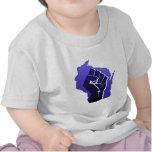 Puño de la solidaridad de Wisconsin Camiseta