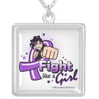 Puño del lupus - lucha como un chica collares personalizados