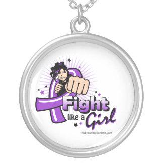 Puño del lupus - lucha como un chica colgante personalizado