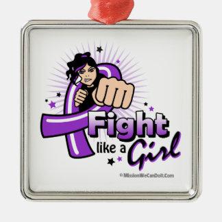 Puño del lupus - lucha como un chica adorno para reyes