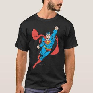 Puño derecho del superhombre aumentado playera