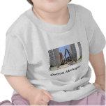 Puño negro Detroit Camiseta