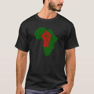 Puño negro III de África Rasta Playera