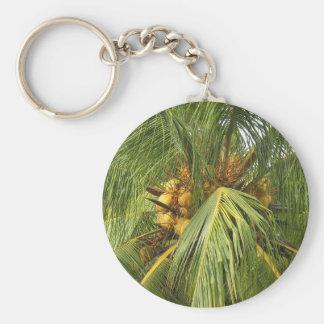 Puno ng Niyog - Coconut Tree Basic Round Button Keychain