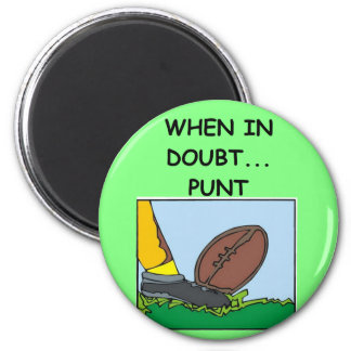 PUNT.png 2 Inch Round Magnet