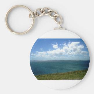 Punta Ballena Uruguay Basic Round Button Keychain