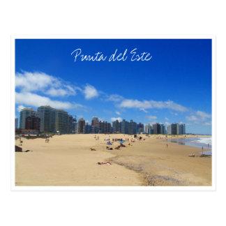 punta beach skyline postcard