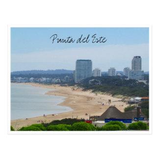 punta beach town postcard
