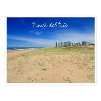 punta beach view postcard