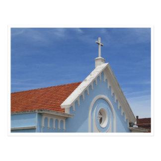 punta blue cross postcard
