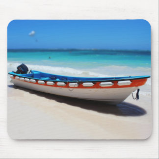 Punta Cana Boat Mousemat Mouse Pad