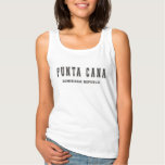 Punta Cana Dominican Republic Basic Tank Top