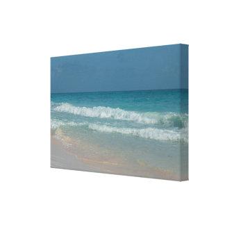 Punta Cana Dominican Republic Beach Waves Canvas Print