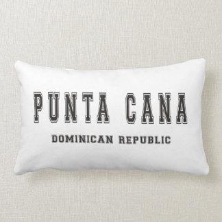 Punta Cana Dominican Republic Lumbar Pillow