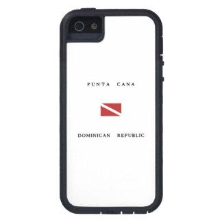 Punta Cana Dominican Republic Scuba Dive Flag Cover For iPhone 5