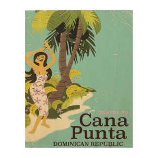 Punta Cana Dominican Republic Travel poster