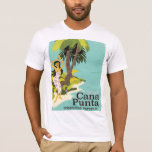 Punta Cana Dominican Republic Travel poster T-Shirt