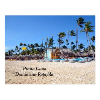 Punta Cana en la República Dominicana Tarjeta Postal