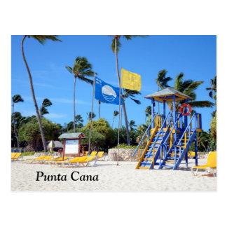 Punta Cana en la República Dominicana Tarjetas Postales