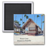 Punta Cana in the Dominican Republic 2 Inch Square Magnet