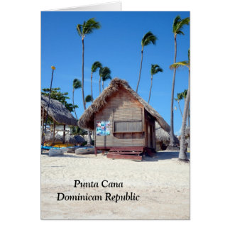 Punta Cana in the Dominican Republic Card