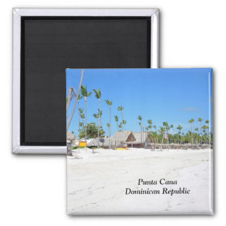 Punta Cana in the Dominican Republic Magnet