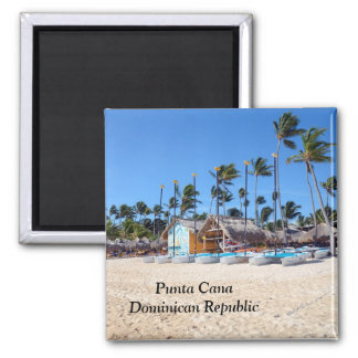 Punta Cana in the Dominican Republic Fridge Magnet