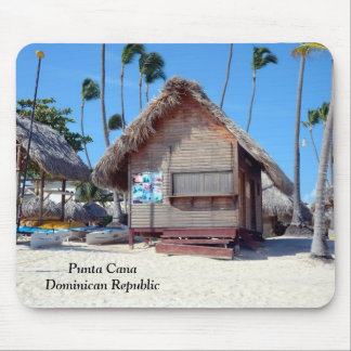 punta Cana in the Dominican Republic Mouse Pad